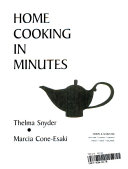 Home Cooking in Minutes
