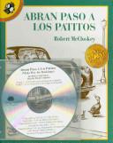 Abran Paso a Los Patitos Book