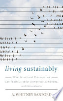Living Sustainably Book
