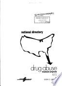 National Directory  Drug Abuse Treatment Programs