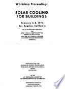 Solar Cooling for Buildings Book