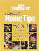 Essential Home Tips Book PDF