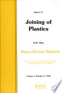 Joining Of Plastics Book PDF