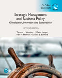 Strategic Management and Business Policy  Globalization  Innovation and Sustainability  Global Edition