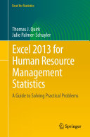Excel 2013 for Human Resource Management Statistics