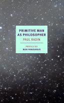 Primitive Man as Philosopher