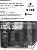 Proceedings of the ... ACM/IEEE-CS Joint Conference on Digital Libraries