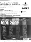 Proceedings of     ACM IEEE CS Joint Conference on Digital Libraries