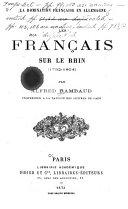 Les Francais sur le Rhin (1792-1804)