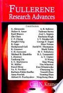 Fullerene Research Advances Book PDF