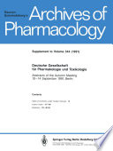 Deutsche Gesellschaft für Pharmakologie und Toxikologie