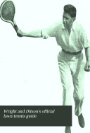 Wright And Ditson S Official Lawn Tennis Guide