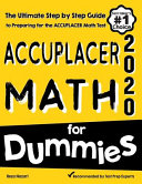 Accuplacer Math for Dummies
