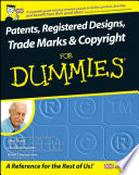 Patents Registered Designs Trade Marks And Copyright For Dummies