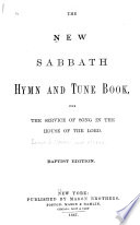 The New Sabbath Hymn and Tune Book