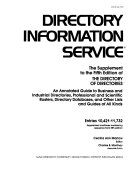 Directory Information Service