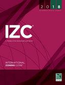 2018 International Zoning Code