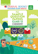 Oswaal ISC Sample Question Papers Class 12 Chemistry Book  For 2021 Exam