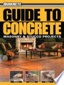 Guide to Concrete