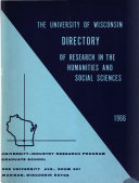 Directory of Research in the Humanities and Social Sciences