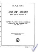 List Of Lights And Fog Signals