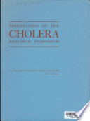 Proceeding Of The Cholera Research Symposium January 24 29 1965 Honolulu Hawaii