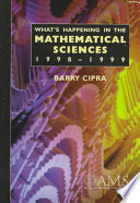 What S Happening In The Mathematical Sciences Volume 4