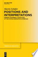 Positions and Interpretations