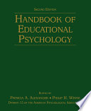 """Handbook of Educational Psychology"" by Patricia A. Alexander, PHILIP H WINNE"