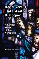 Hegel Versus Inter Faith Dialogue