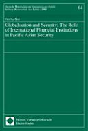 Globalisation and Security Book
