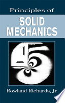 Principles of Solid Mechanics