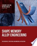 Shape Memory Alloy Engineering Book