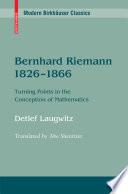Bernhard Riemann 1826 1866