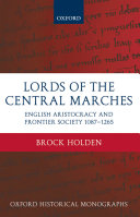 Lords of the Central Marches [Pdf/ePub] eBook