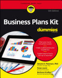 Business Plans Kit For Dummies Book