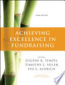 Achieving Excellence In Fundraising Book PDF