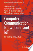Computer Communication  Networking and IoT