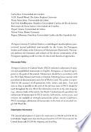Portuguese Literary & Cultural Studies