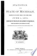 Statistics of the state of Michigan