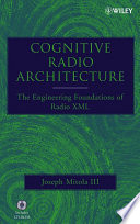 Cognitive Radio Architecture