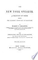 The New York Speaker