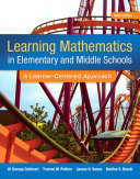 Learning Mathematics In Elementary And Middle School Book PDF
