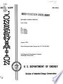 Refinery Energy Profile