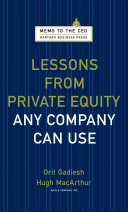 Lessons from Private Equity Any Company Can Use Pdf/ePub eBook