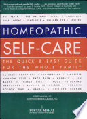 Homeopathic Self Care