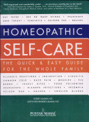 Homeopathic Self Care Pdf