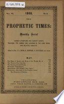 Prophetic Times and Watch Tower Book