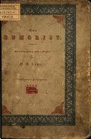 Montags-Blatt 1853 - 1854