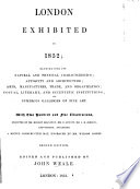 "London exhibited in 1852 ... Second edition [of ""London exhibited in 1851""]. Edited and published by J. Weale"